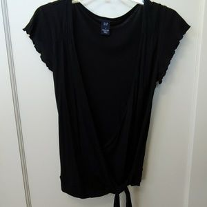 Gap Black Wrap Shirt (Small)